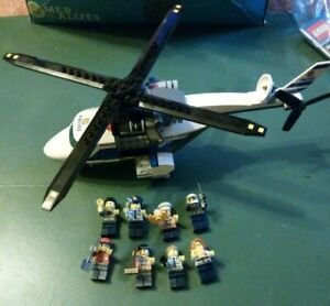 Lego-city-Helicoptere-personnages-12-pieces-Lot-1LCH