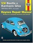 Haynes Manuals: VW Beetle 1200 and Karman Ghia, 1954 Thru 1979 No. 36 by John Haynes and D. M. Stead (1998, Paperback, Revised)