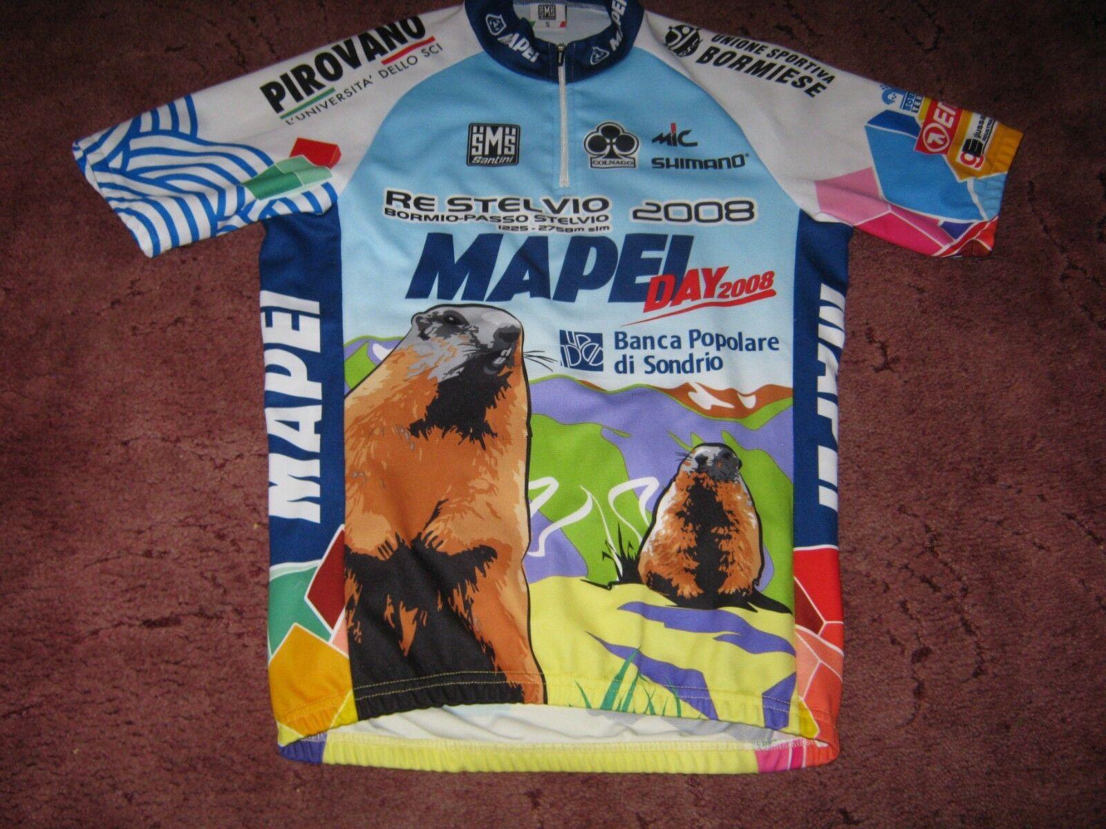 Mapei Day 2008 Santini italian cycling jersey SZ  piccolo