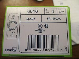 LEVITON  # 6616  ROTARY  5 AMP SINGLE POLE FAN SPEED CONTROL