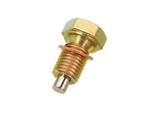 Details about BMW MAGNETIC Oil Drain Plug-M12-1 50 Threads-Head Size:17MM  w/ Drain Gasket