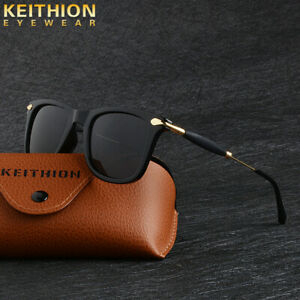 KEITHION-Classic-Style-Sunglasses-Mens-Polarized-Square-Driving-Mirrored-Eyewear