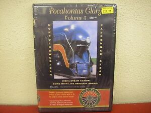 Pocahontas-Glory-Vol-5-DVD-Herron-Rail-Video-Norfolk-amp-Western-Passenger-Steam