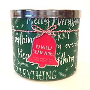 NEW-1-BATH-amp-BODY-WORKS-VANILLA-BEAN-NOEL-14-5-OZ-SCENTED-3-WICK-LARGE-CANDLE