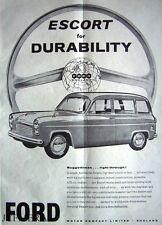 FORD 'Escort Estate' 1958 Car ADVERT - Original Magazine Print AD