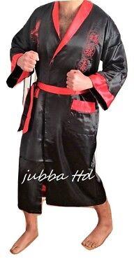 Selbstlos Men's Reversible Japanese/ Chinese Kimono Dressing Gown 100% Garantie
