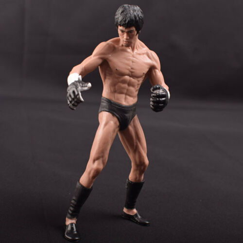 1//12 Statue PVC Mixed Martial Art Bruce LEE Action Figure Unmovable Version I//II