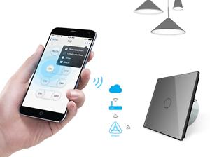 livolo smarthome funk lichtschalter glas touch steckdosen grau luxus time ebay. Black Bedroom Furniture Sets. Home Design Ideas