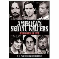 America's Serial Killers: Portraits in Evil [DVD] (2009) *New DVD*