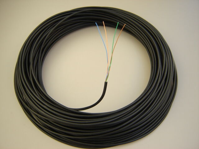 BT Manufactured Solid Copper External 25m 2 Pair Cw1308 Black ...