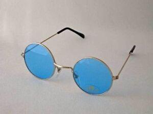 2595616e595a John Lennon Blue Style Vintage Retro Classic Circle Round Sunglasses ...