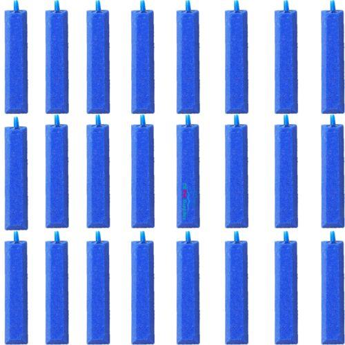 "24X Air Stone Bubble Curtain Bar Aquarium Aerator Pump Hydroponics 4/"""