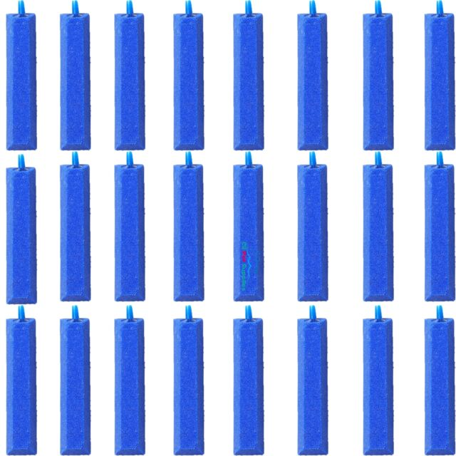 "24X Air Stone Bubble Curtain Bar Aquarium Aerator Pump Hydroponics 4"""