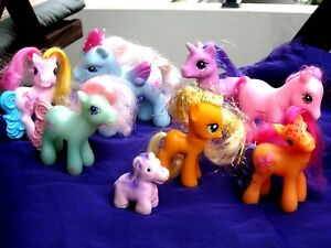 8 My Little Pony Ponies Vintage All Nice And Clean And Very Cute Ebay
