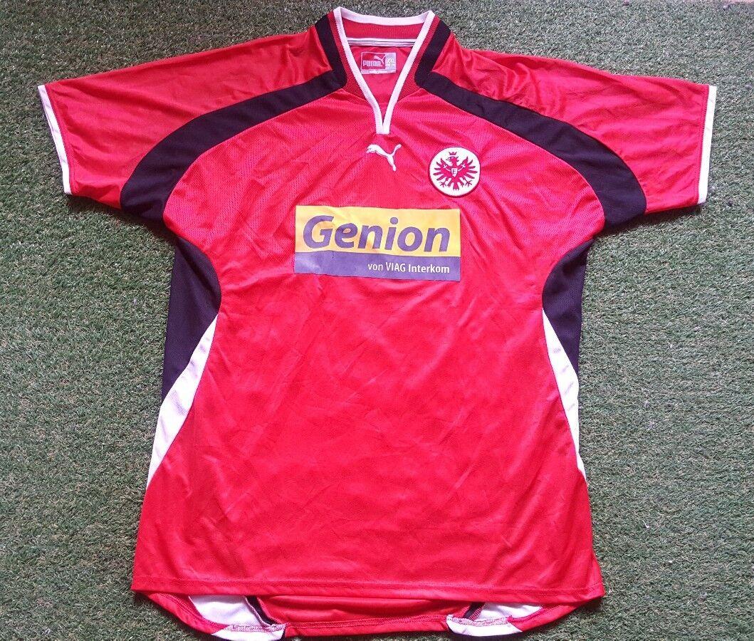 Eintracht Frankfurt Trikot XXL 00/01 Puma Shirt Shirt Puma Jersey Genion 4d86f6