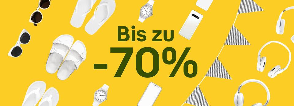 Endspurt beim Som-mehr Sale: bis zu -70%* – Nicht mehr lange! - Endspurt beim Som-mehr Sale: bis zu -70%*