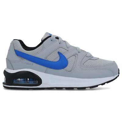 Scarpe sportive bimbo Nike Air Max Command Flex PS 844347 007 grigio blu mesh | eBay