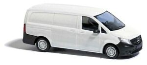 Busch-60203-Kit-Mercedes-Benz-White-Car-Model-1-87-H0