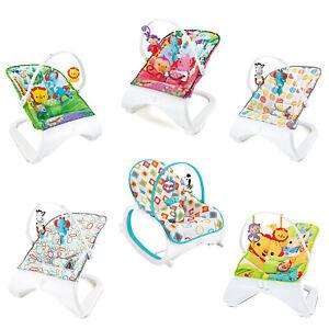 Baby-Toddler-Rocker-Comfortable-Bouncer-Safe-Chair-Modern-Stylish-Heavy-Duty
