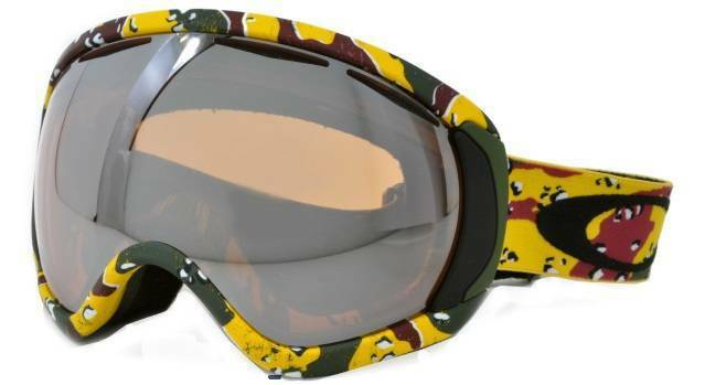 abe0ff5f95 Oakley Canopy Snow Goggle Tanner Hall High Grade Camo black Iridium AF for  sale online