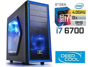 INTEL-Core-i7-6700-4-0GHz-GAMING-COMPUTER-1TB-HDD-16GB-RAM-HDMI-Desktop-PC
