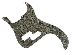 BLACK 13-Hole Genuine Fender 3-Ply Pickguard for Standard Precision//P-Bass