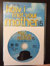 How I Met Your Mother - Season 5, Disc 1 REPLACEMENT DISC (not full season)