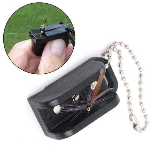 Magnetic Tippet Threader Fishing Hook Threader Gear Accessories Fishing E8E6