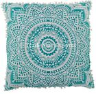 26x26 Bohemian Large Mandala Cushion Cover Decorative Hippie Cotton Throw Pillow