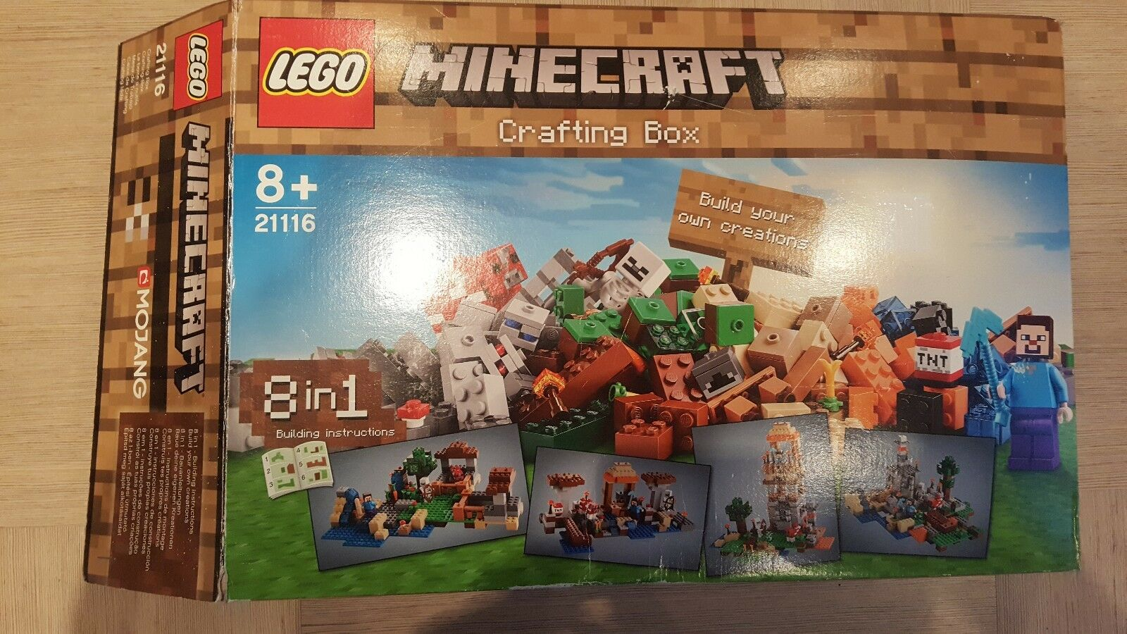 LEGO 21116 Minecraft artigianale BOX