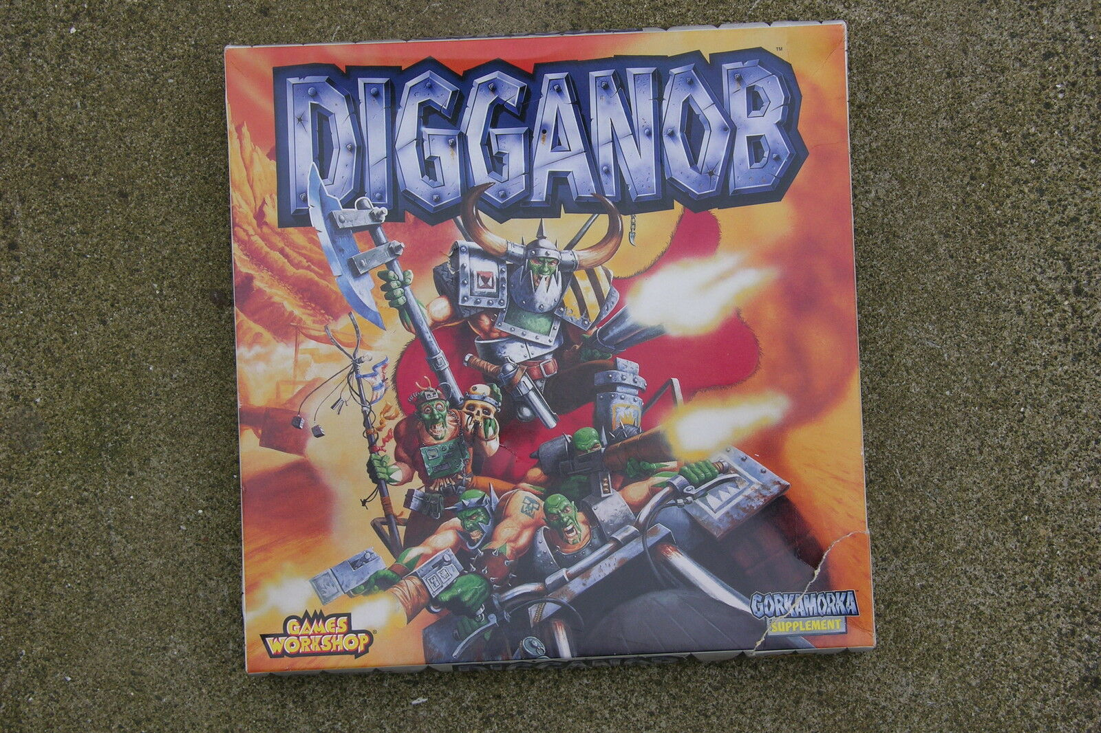 Games Workshop Digganob   Carte Constructions sans Perforation