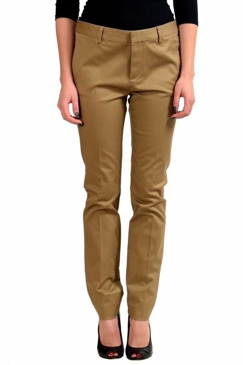 Dsquared2 Brown Women's Casual Pants US XS IT 38