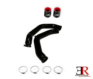 Details about Evolution Racewerks Anodized Black Charge Pipe for 15-17 BMW  M3 M4 S55