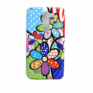 d528b20fd24 Flower Designs Smooth Skin Soft TPU Back Case Cover For LG L Bello ...