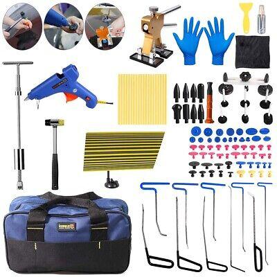 Paintless Dent Repair Kit Hail Removal Slide Hammer Lifter Puller Tabs Tools