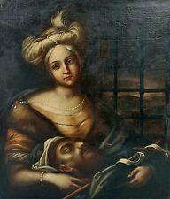 17C Guido Reni Italian School Judith Salome Renaissance Old Master Painting PROV