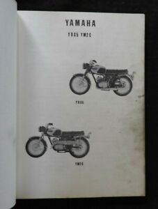 1968 1969 Yamaha 250cc 305cc Yds5 Ym2c Motorcycle Parts Catalog Manual Nice Ebay