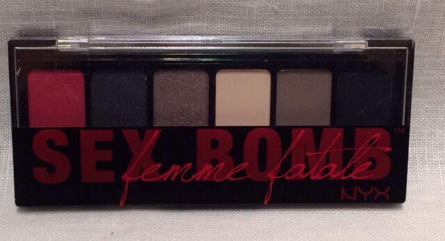 nyx eyeshadow palette sex bomb in Repentigny