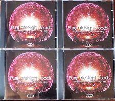 PURE LATE NIGHT MOODS..4 x CD BOX SET. NEAR MINT. UK DISPATCH