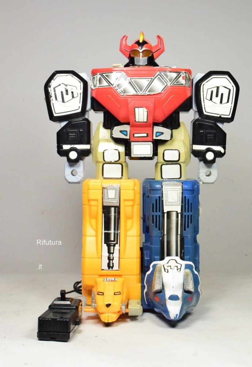 Robot radiocomando Megazord Power Rangers Marchon Saban 1994 collezione Toy-002B