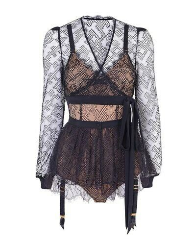 Agent Provocateur Elsey Wrap Top & Jupe-taille 3/medium-neuf