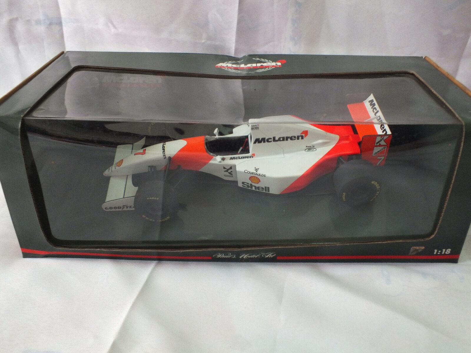 McLaren MP4/8 Andretti 1/18 Paul's Model Art - Minichamps