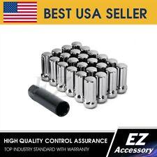 Gorilla Automotive 76197LXL Extra Long Duplex Acorn Lug Nuts 9//16 Thread Size Left Hand Thread