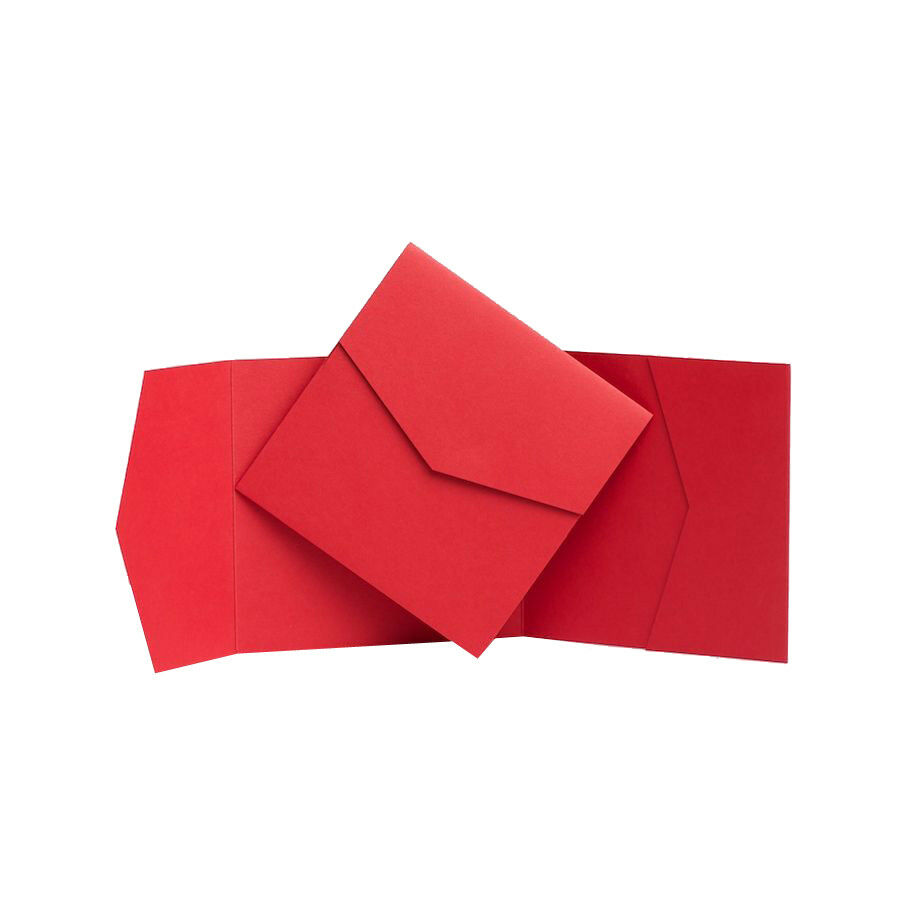 rot Wedding Invites. Pocketfold Invitations. Wallet Stationery Stationary Cards
