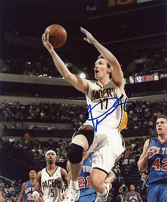Autographs-original Mike Dunleavy Indiana Pacers Signed 8x10 Photo W/coa