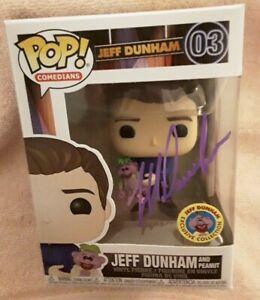 Pop-Comedians-034-Jeff-Dunham-amp-Peanut-034-Purple-Autographed-Exclusive-Collection