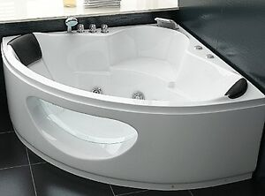 designer whirlpool badewanne eckbadewanne mit glas. Black Bedroom Furniture Sets. Home Design Ideas
