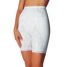 NWT  Sears Slimshape Floral  Extra Firm Long Leg Panty Girdle with Garters Wh 2X