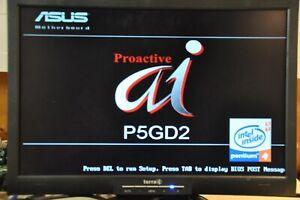 ASUS-Mainboard-P5GD2-Rev-2-04-Mit-512-MB-RAM-Intel-Pentium-4-CPU-3-0GHz-800MHz