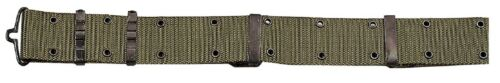 Men/'s Olive Drab Military-Style Pistol Belt With Metal Buckle Hardware Rothco